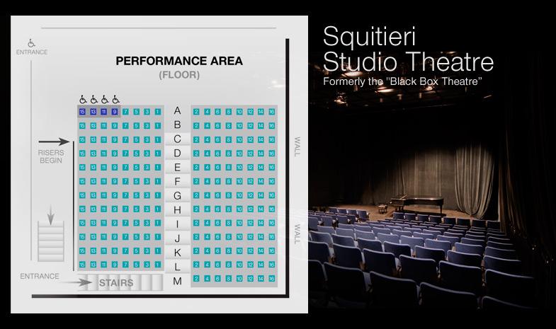 Squitieri Studio Theatre Seating Chart