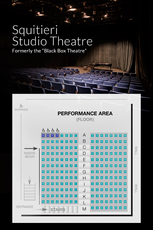 Squitieri Studio Theatre Seating Chart